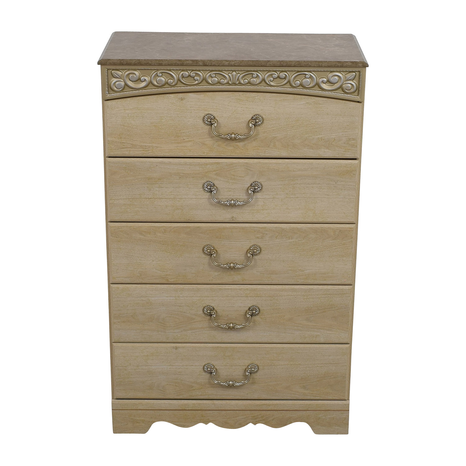 Ashley Furniture Catalina Chest of Drawers beige