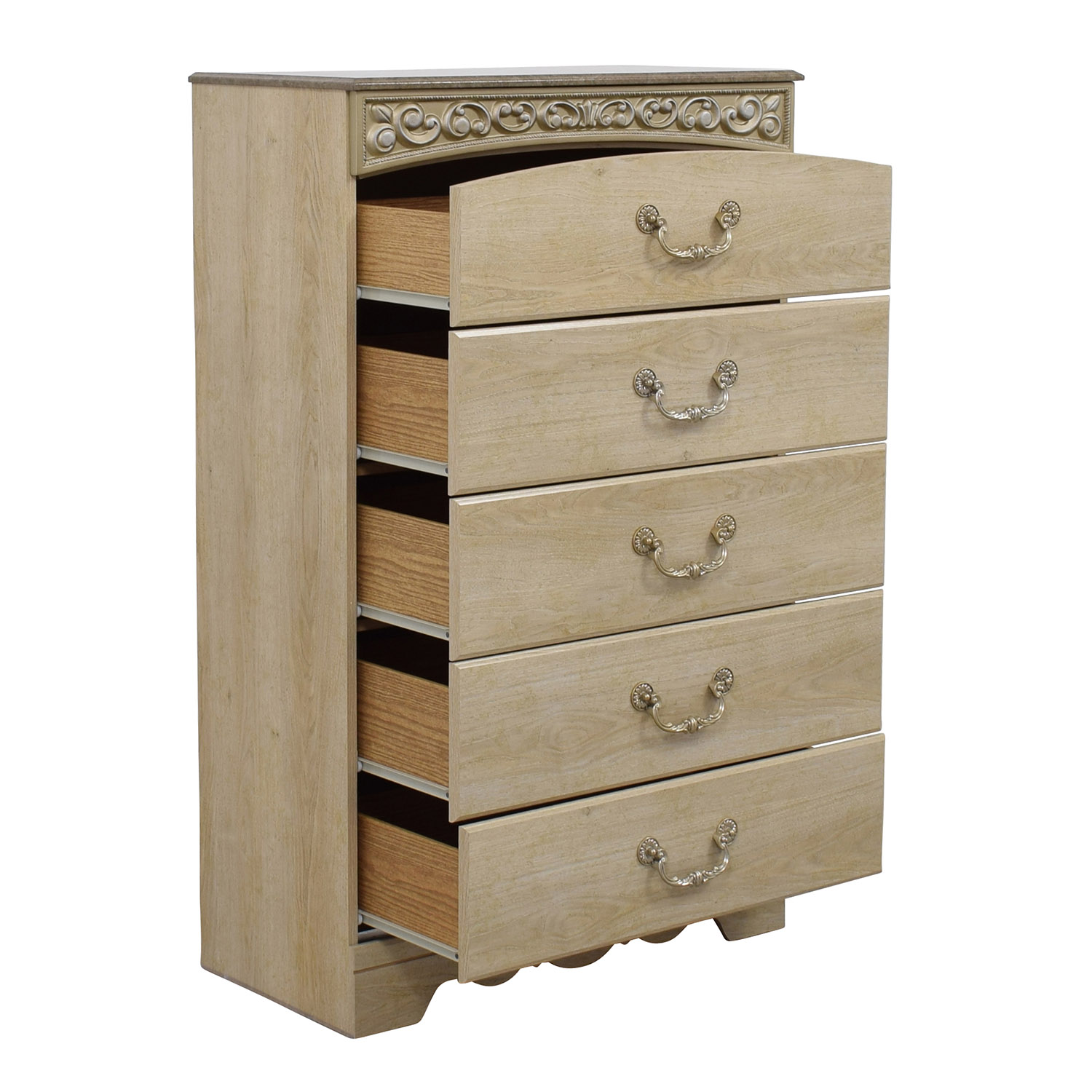 41 off ashley furniture catalina chest of drawers storage. Black Bedroom Furniture Sets. Home Design Ideas