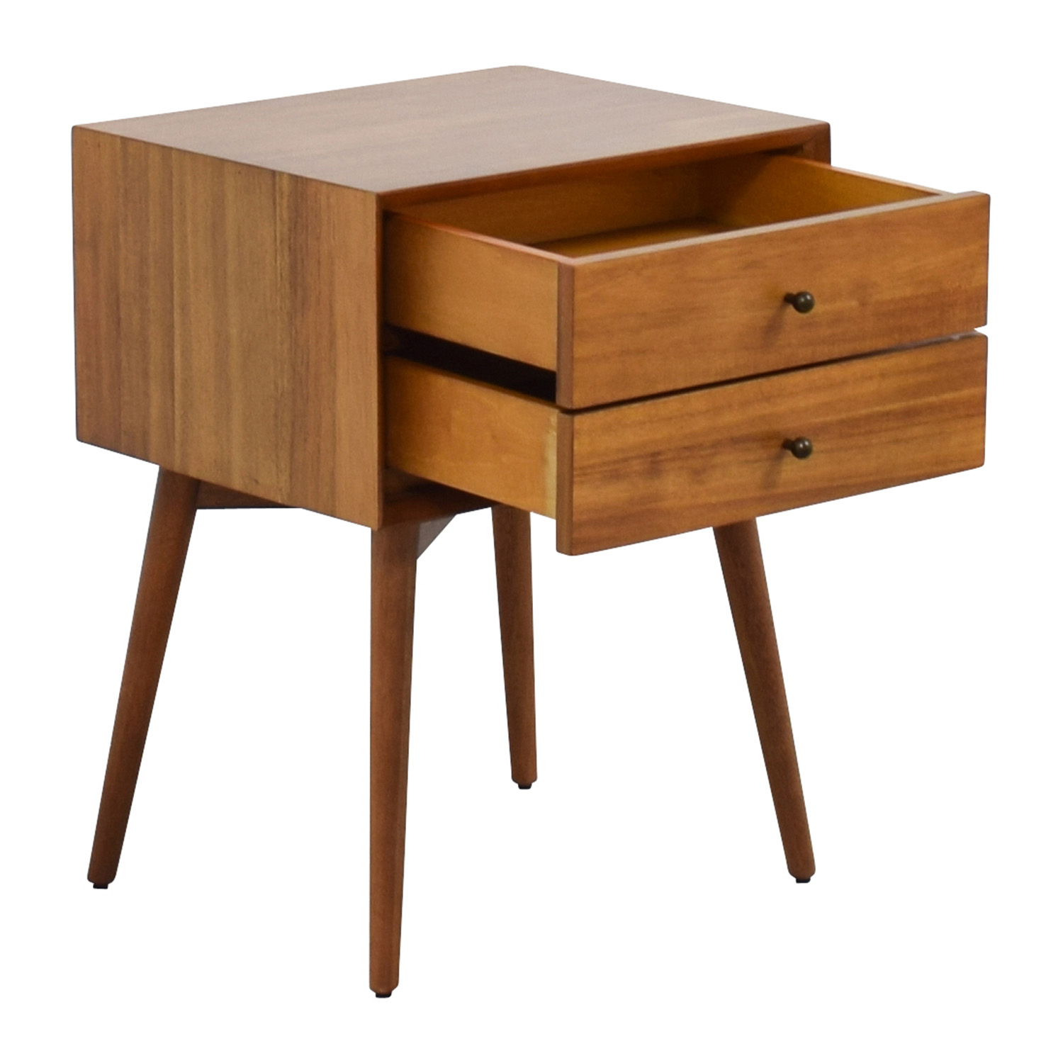 49 Off West Elm West Elm Mid Century Nightstand Tables