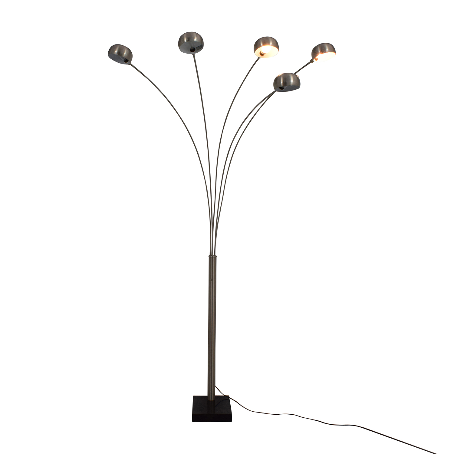shop Chrome Domed Standing Lamp online