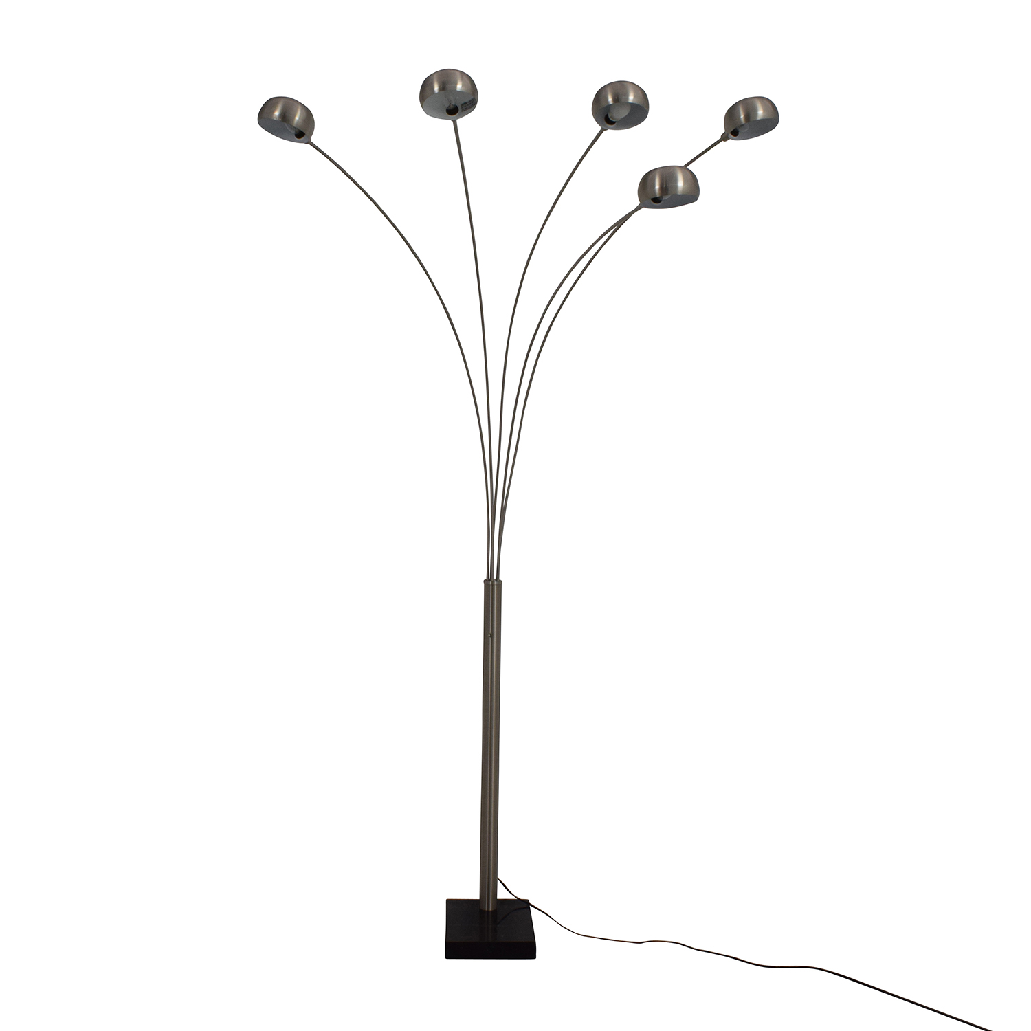 Chrome Domed Standing Lamp on sale