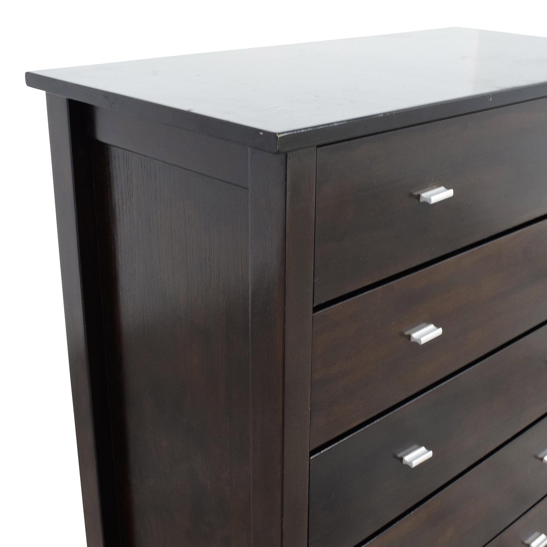 shop Mahogany Five Drawer Dresser online