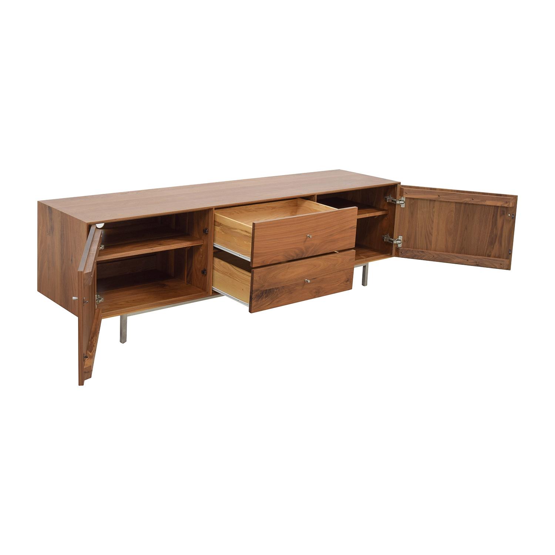 shop Room and Board Hudson Media Cabinet Room & Board Storage