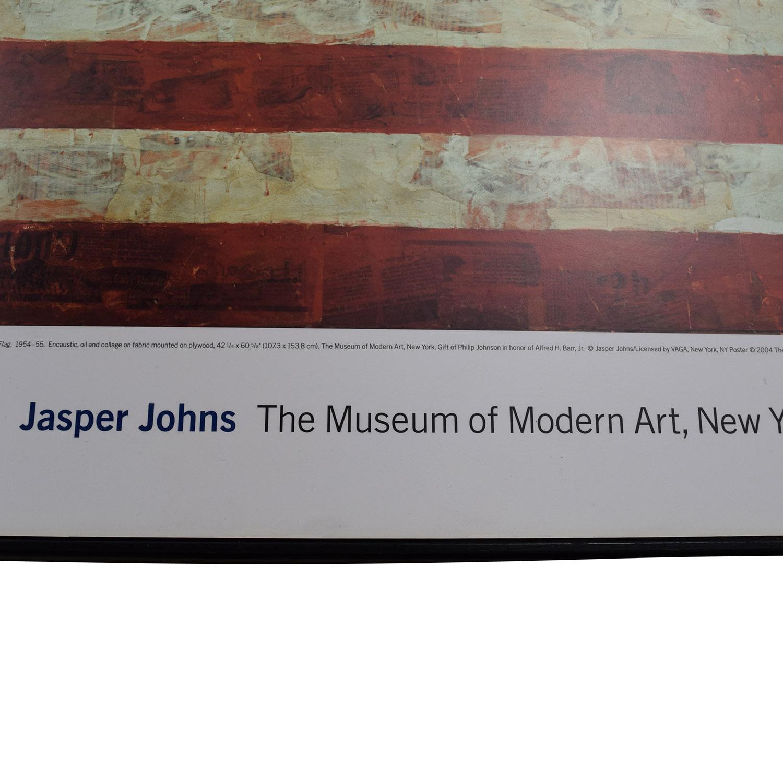 shop Moma Design Store Jasper Johns USA Flag Wall Art MOMA Design Store