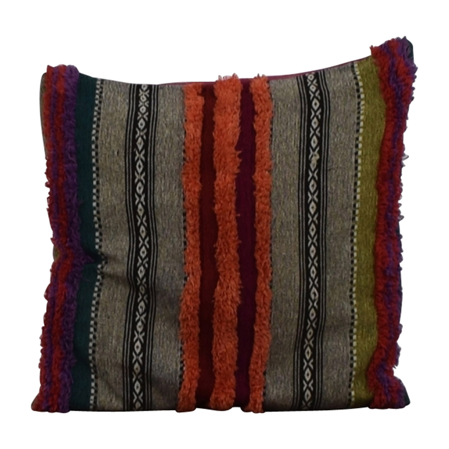 Multi-Colored Toss Pillow coupon