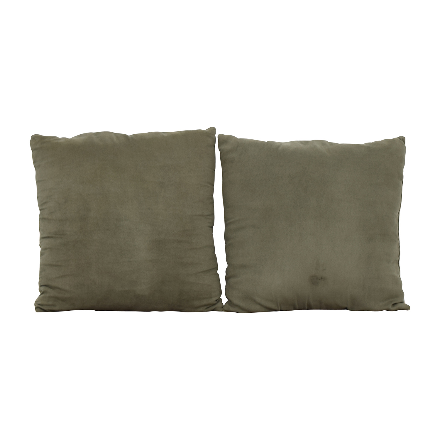 shop Multi-colored Square Design Tan and Green Toss Pillows