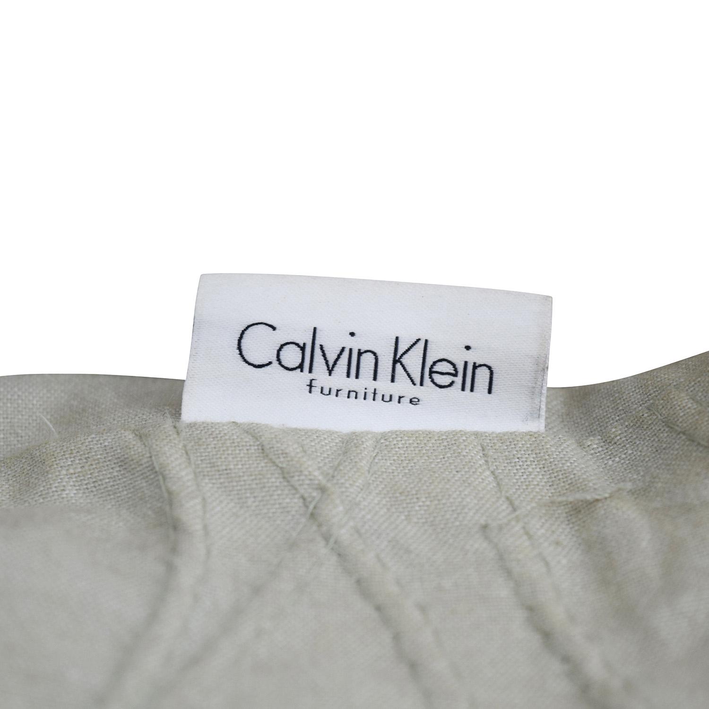 Excellent 85 Off Calvin Klein Calvin Klein Beige Wave Design Toss Pillows Decor Andrewgaddart Wooden Chair Designs For Living Room Andrewgaddartcom