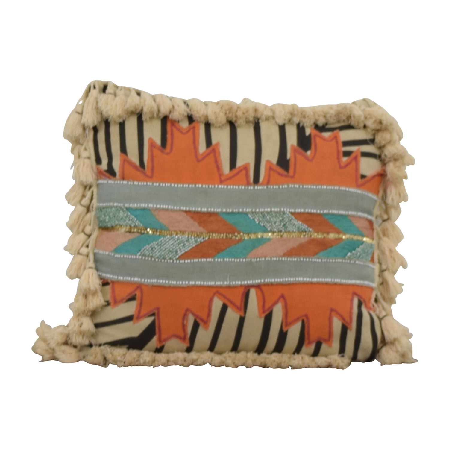 buy Multi-Colored Toss Pillow Decorative Accents