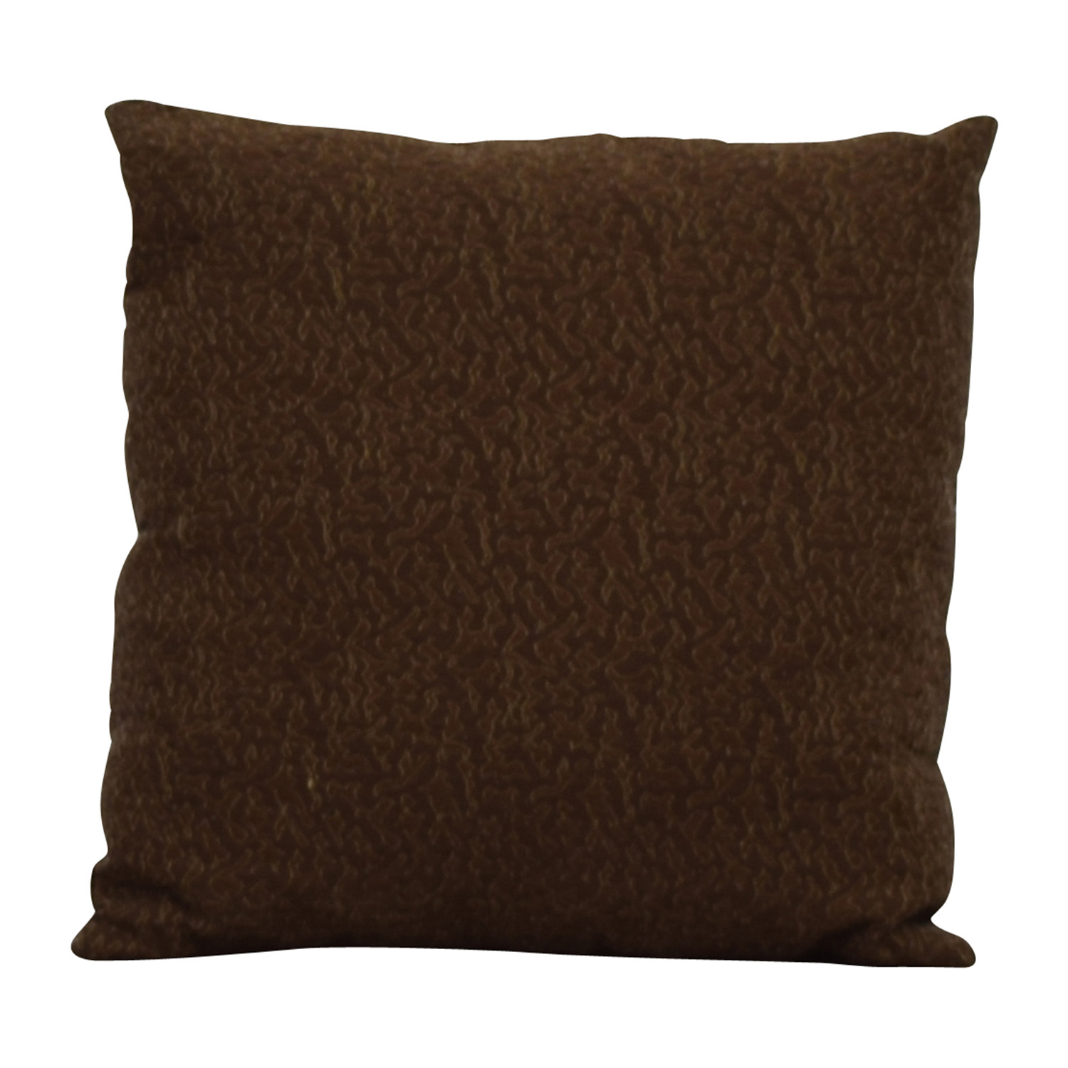 buy Two-toned Brown Toss Pillow Decor