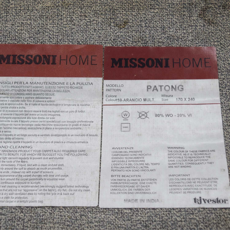 Missoni Missoni Patong Wool Rug Rugs