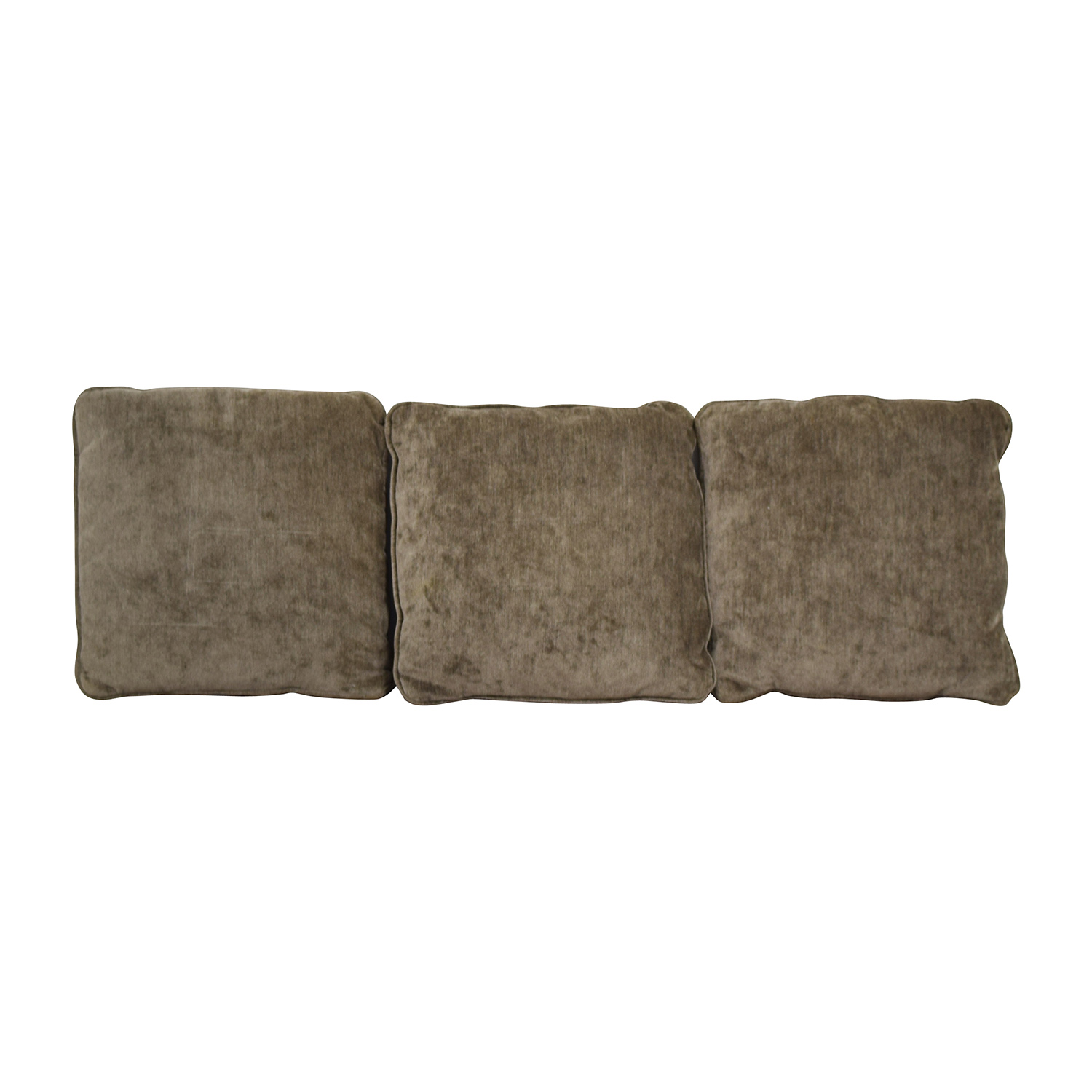 Brown Square Toss Pillows / Decorative Accents