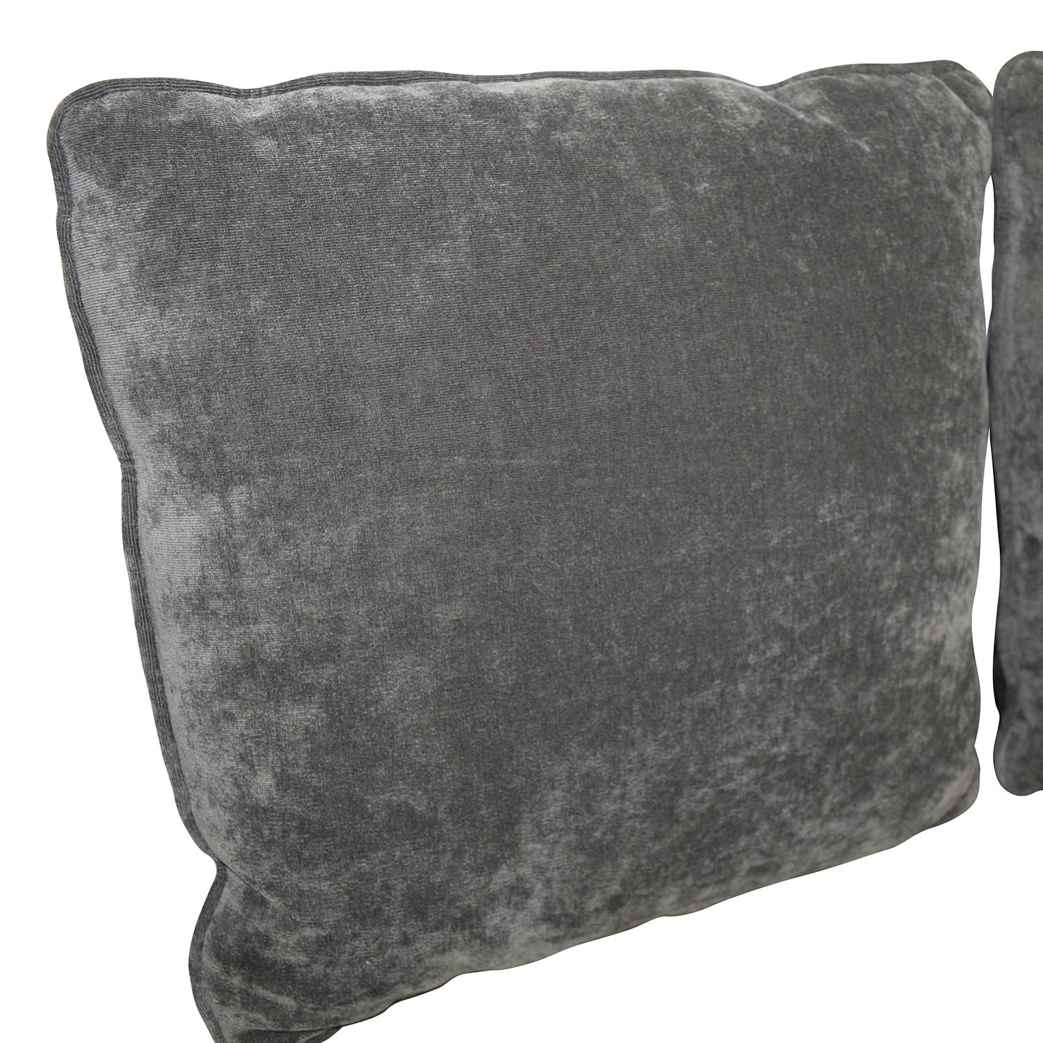 Dark Gray Microfiber Toss Pillows discount