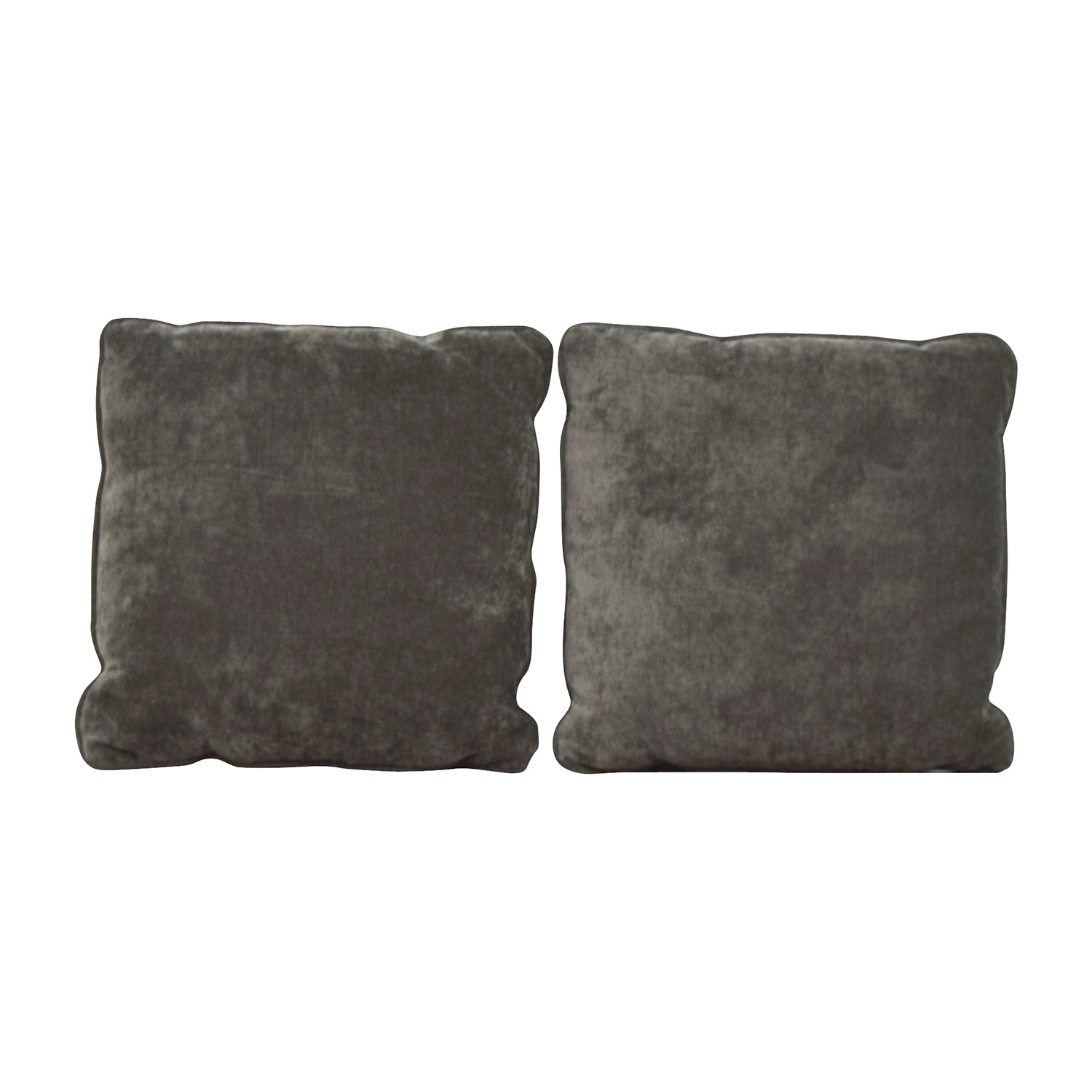 shop Dark Gray Microfiber Toss Pillows Decor