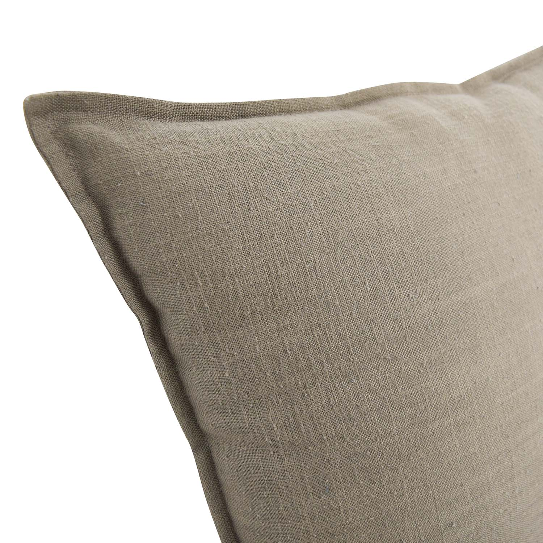 buy Jute Tan Toss Pillows