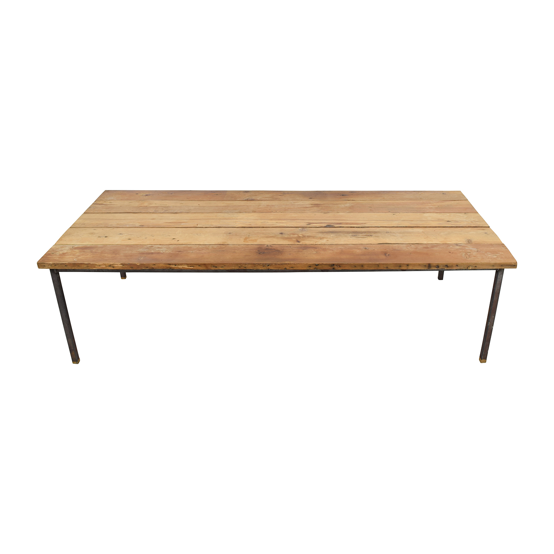 Custom Made Reclaimed Wood Table