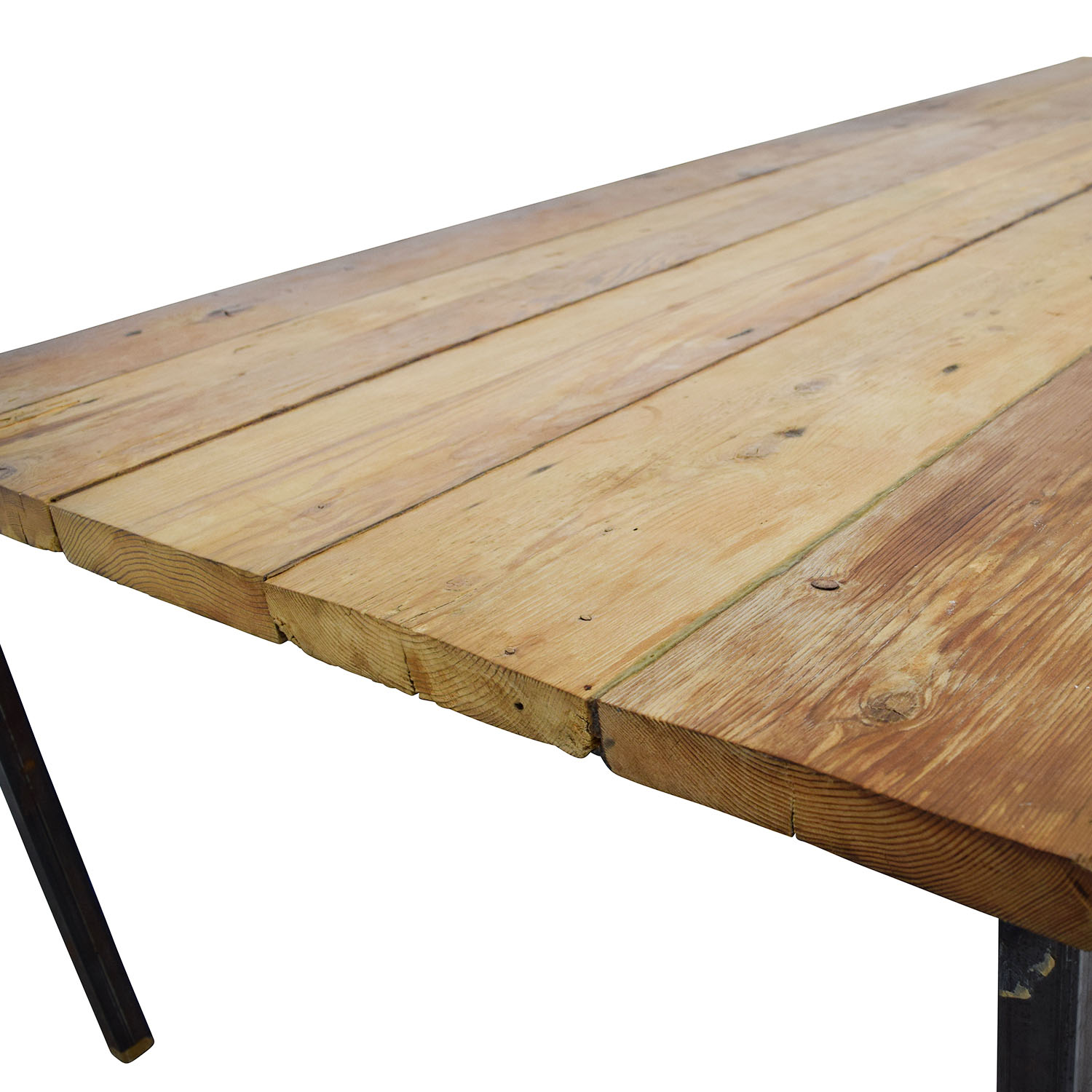 82 Off Custom Made Reclaimed Wood Table Tables