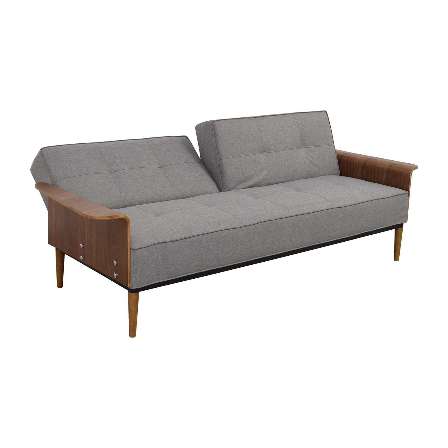 50 off inmod inmod bjorg tufted light grey sofabed sofas for In mod furniture