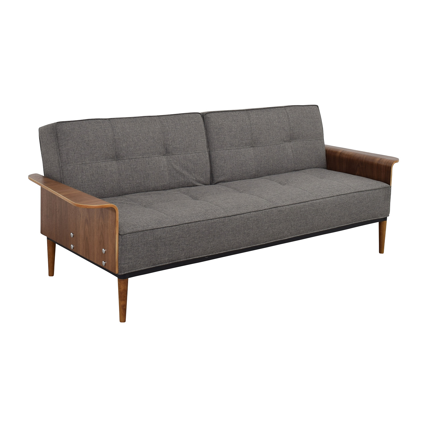 buy InMod InMod Bjorg Tufted Dark Grey Sofabed online