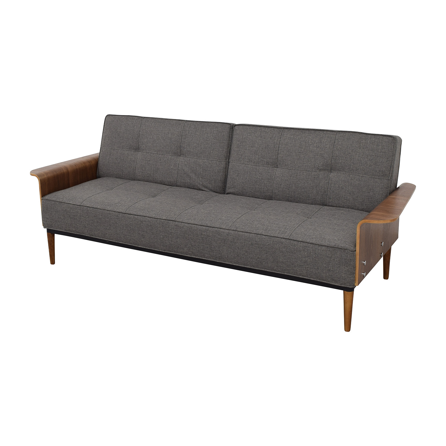 InMod InMod Bjorg Tufted Dark Grey Sofabed second hand