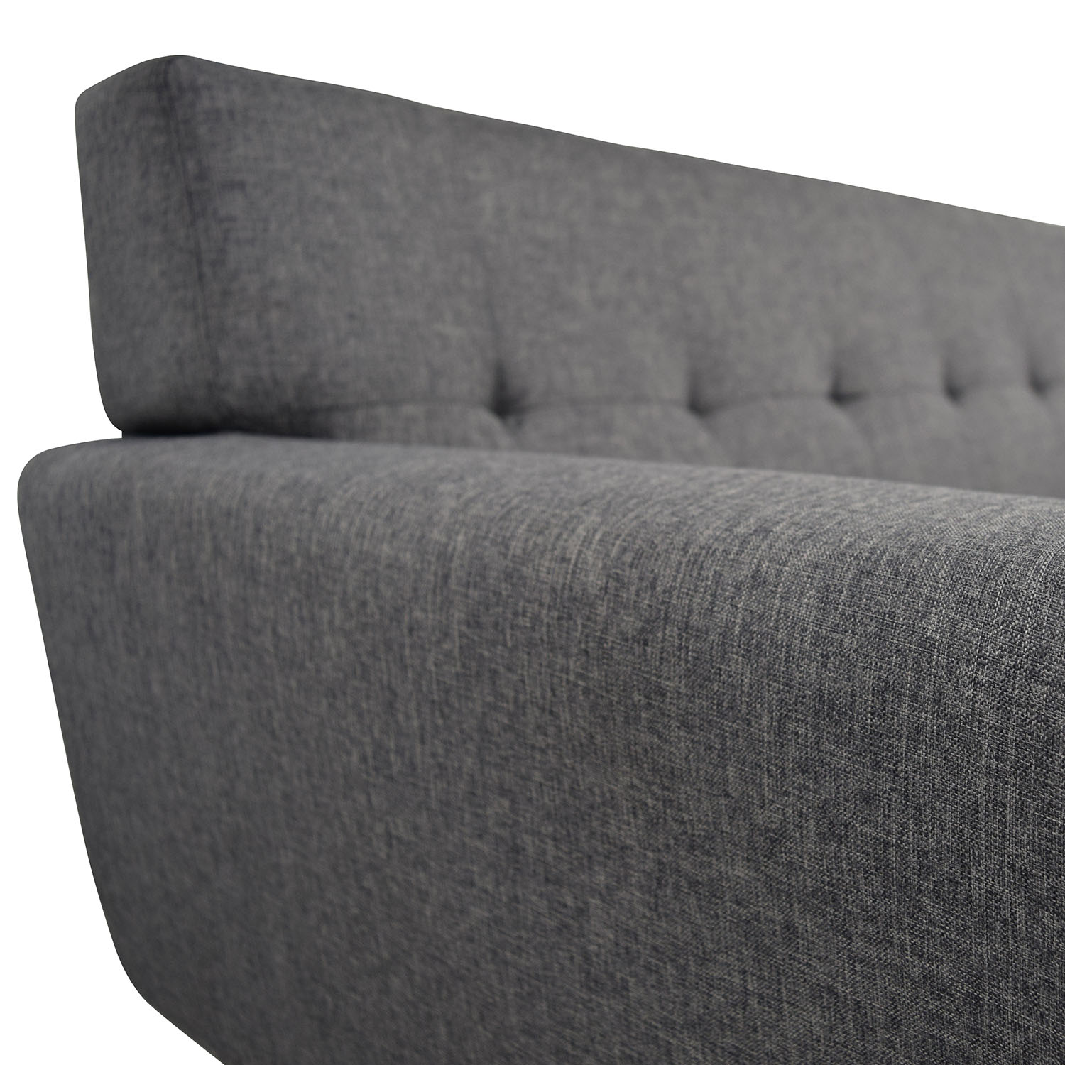 InMod InMod Charcoal Grey Tufted Lars Sofa nj