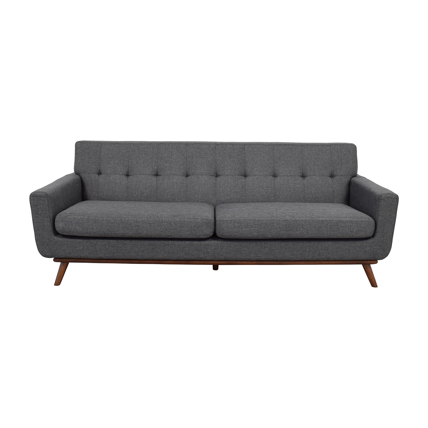 InMod InMod Charcoal Grey Tufted Lars Sofa price