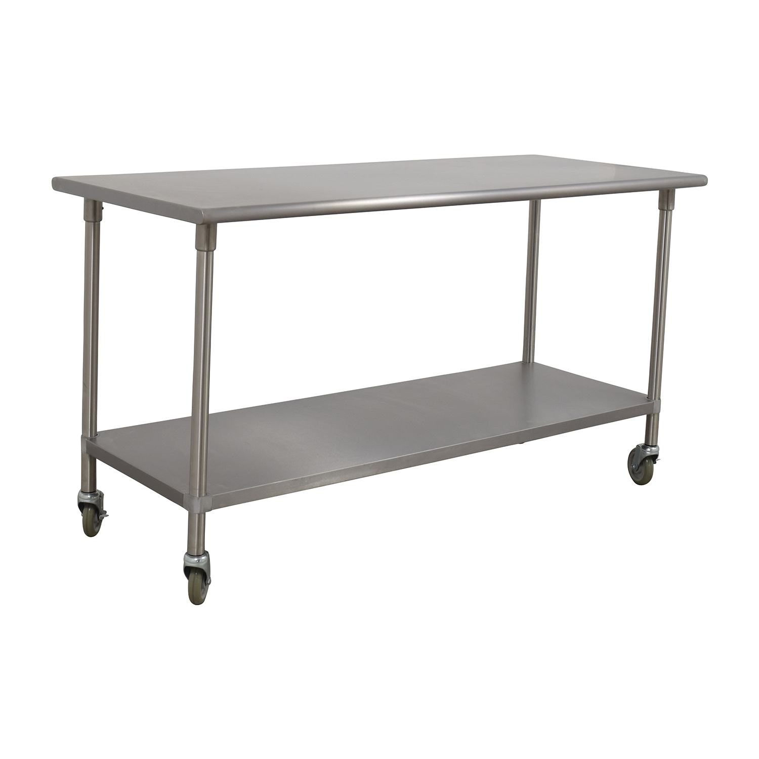 Bowery Kitchen Bowery Kitchen Stainless Steel Table used