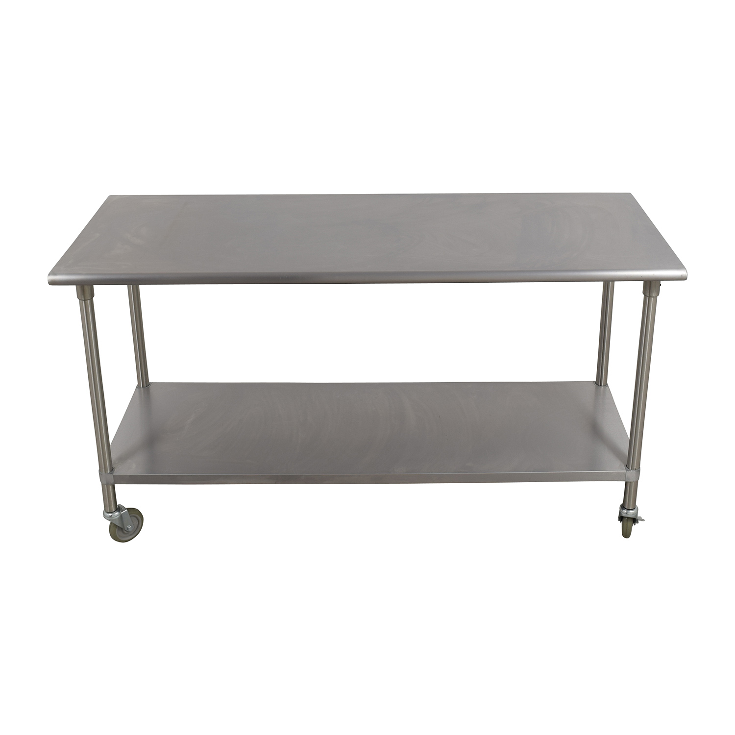 83% OFF - Bowery Kitchen Bowery Kitchen Stainless Steel Table / Tables