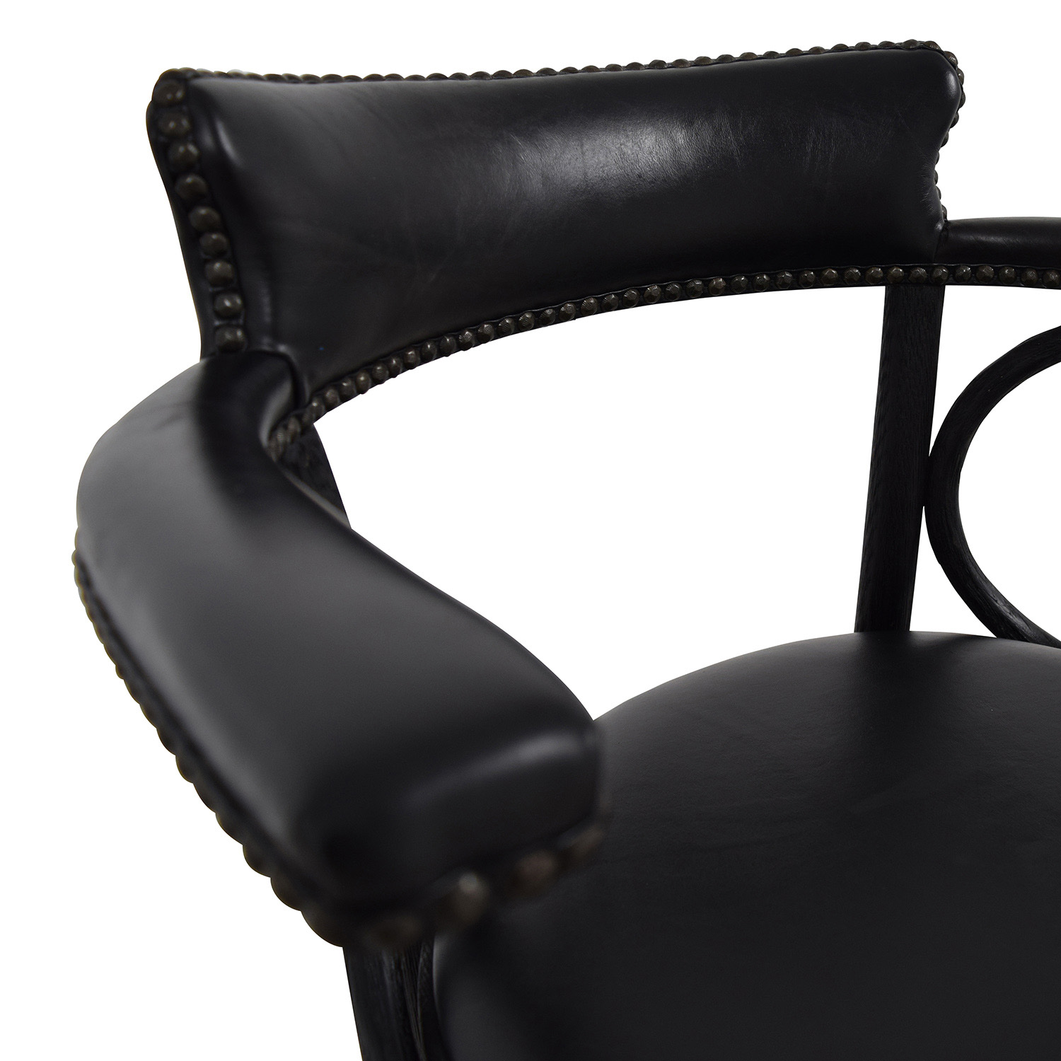 buy Restoration Hardware Restoration Hardware Vienna Cafe Leather Stool online