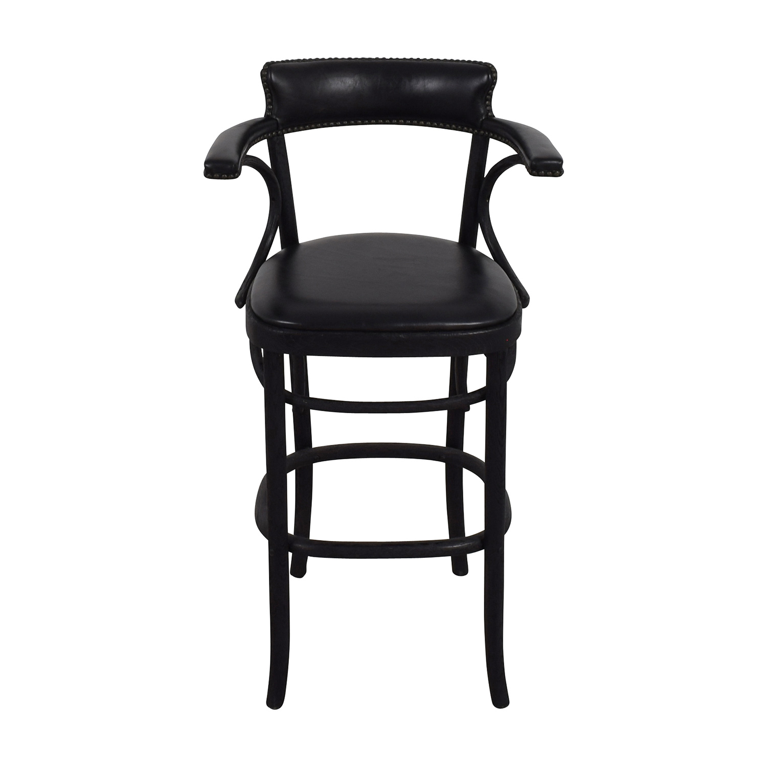 Restoration Hardware Restoration Hardware Vienna Cafe Leather Stool coupon