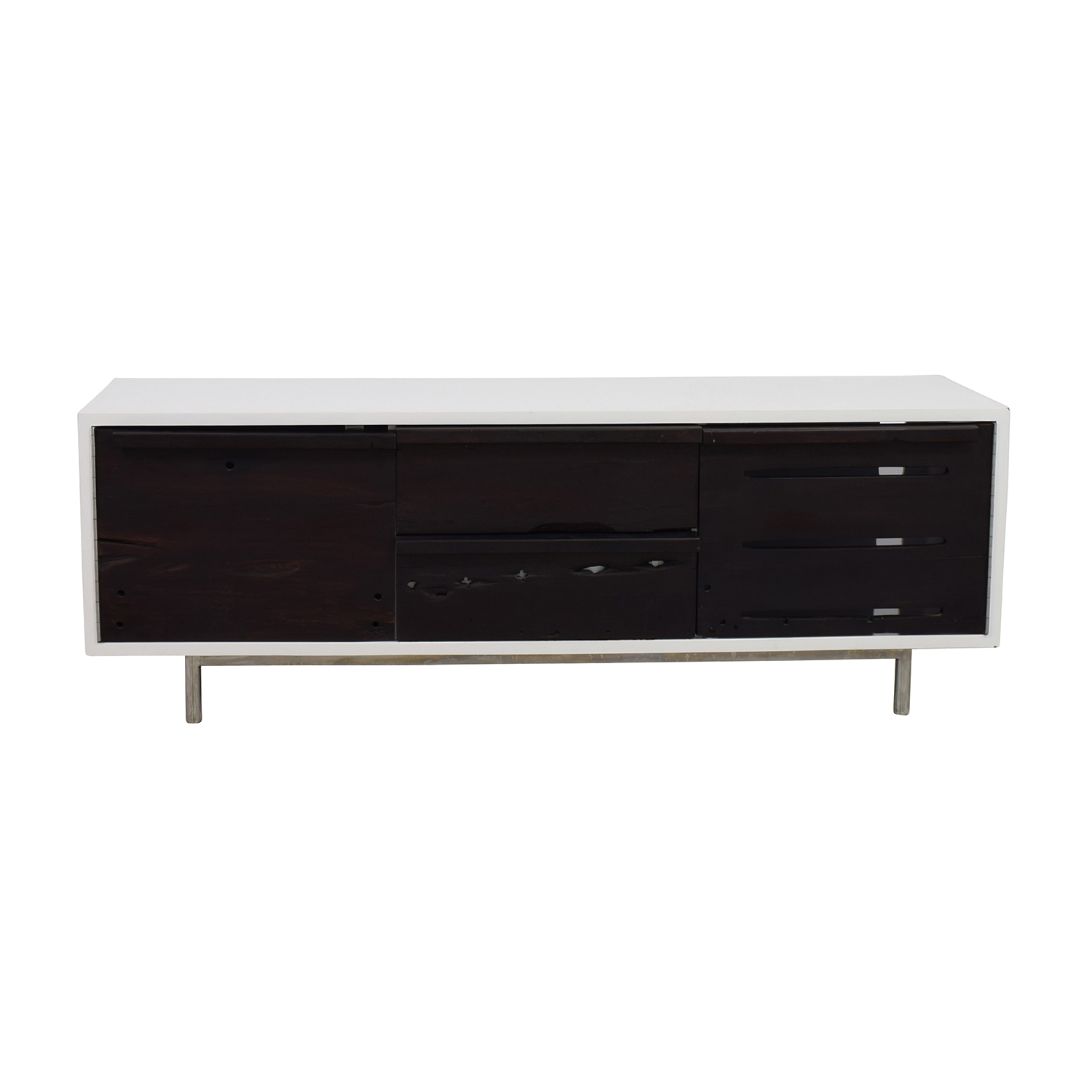 LDK by Bartolo LDK by Bartolo White and Black Modern Wood Credenza used