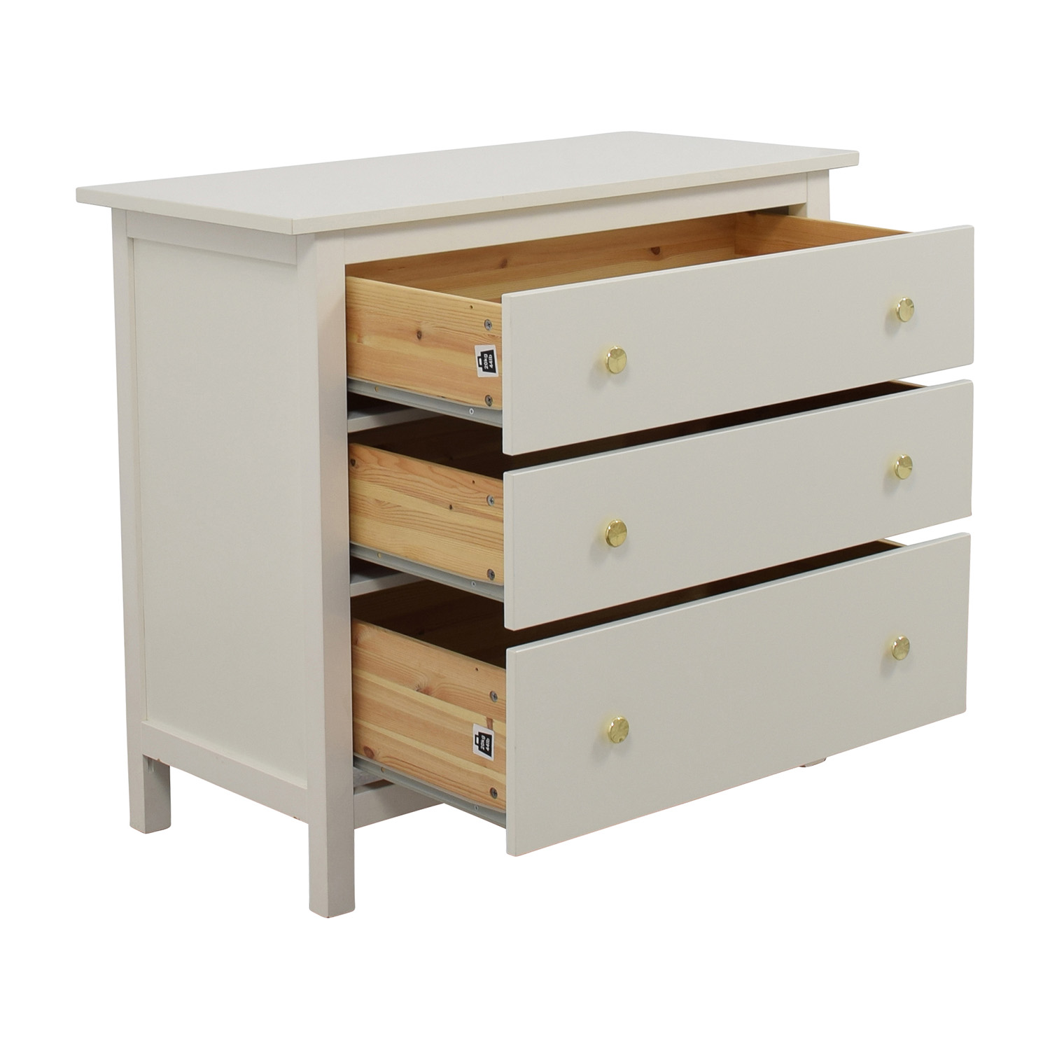 IKEA IKEA Hemnes Three-Drawer Dresser