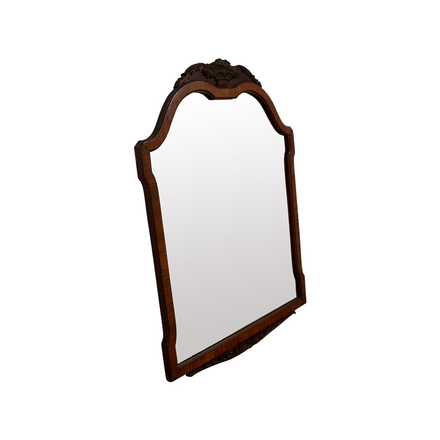 buy Antique Wood Framed Mirror  Decor