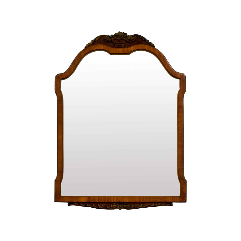 shop Antique Wood Framed Mirror