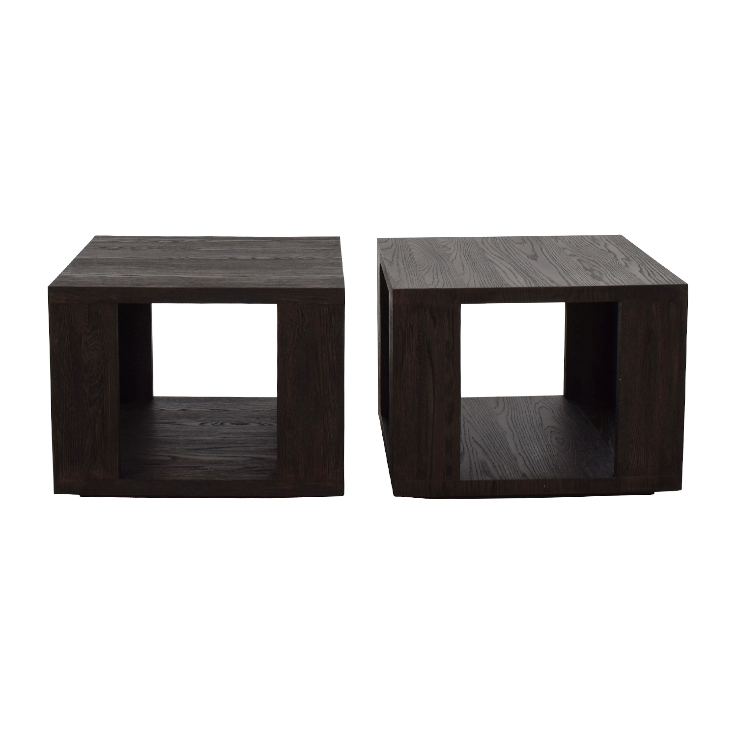 Restoration Hardware Hayes Square Side Table / Tables
