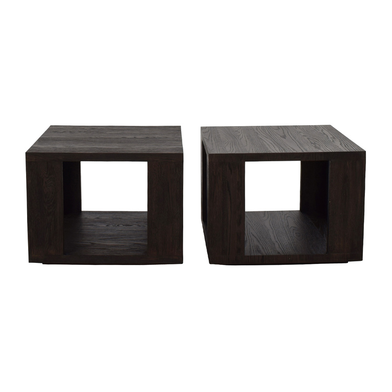 Restoration Hardware Restoration Hardware Hayes Square Side Table discount
