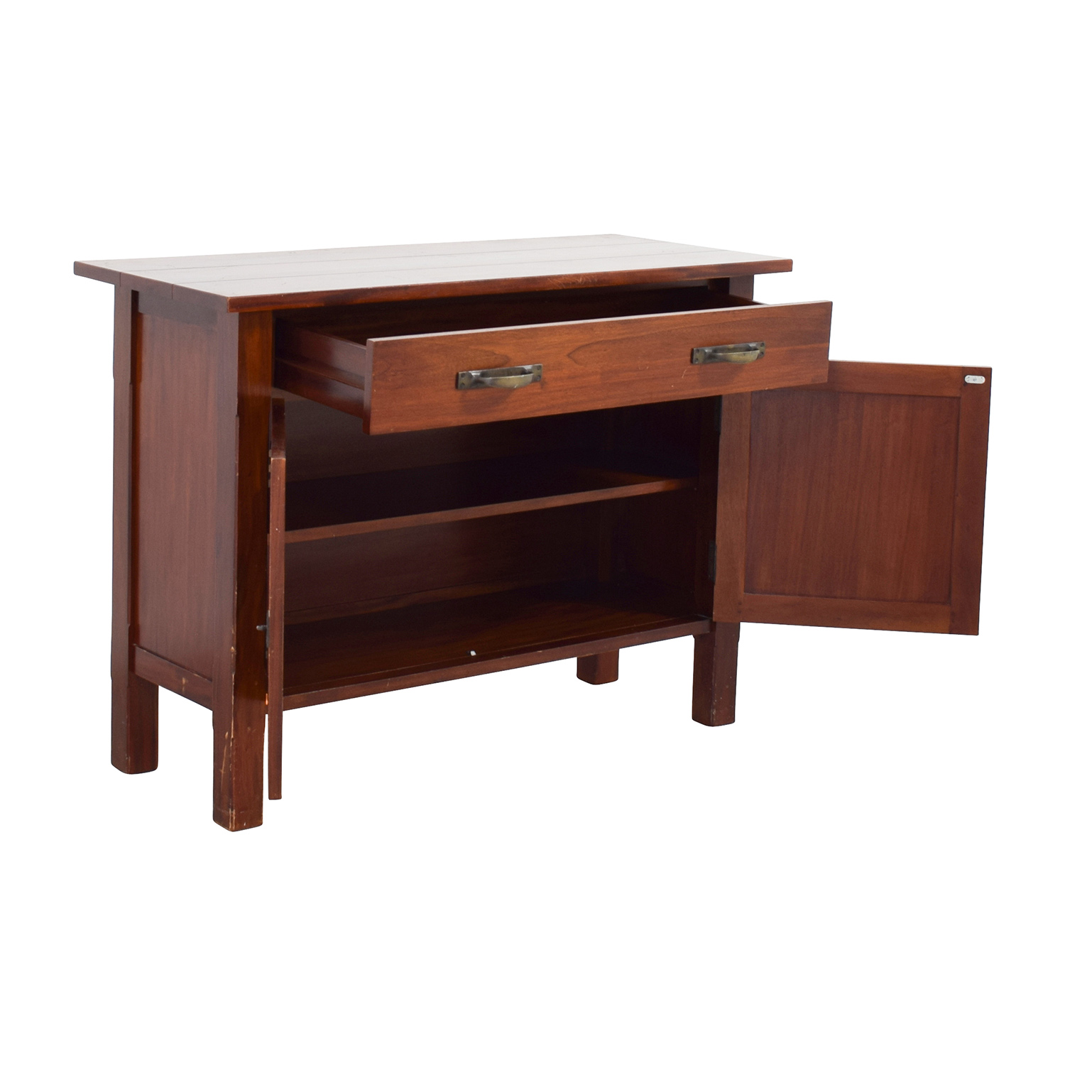 86% OFF Pottery Barn Pottery Barn Medium Sideboard with Storage Storage