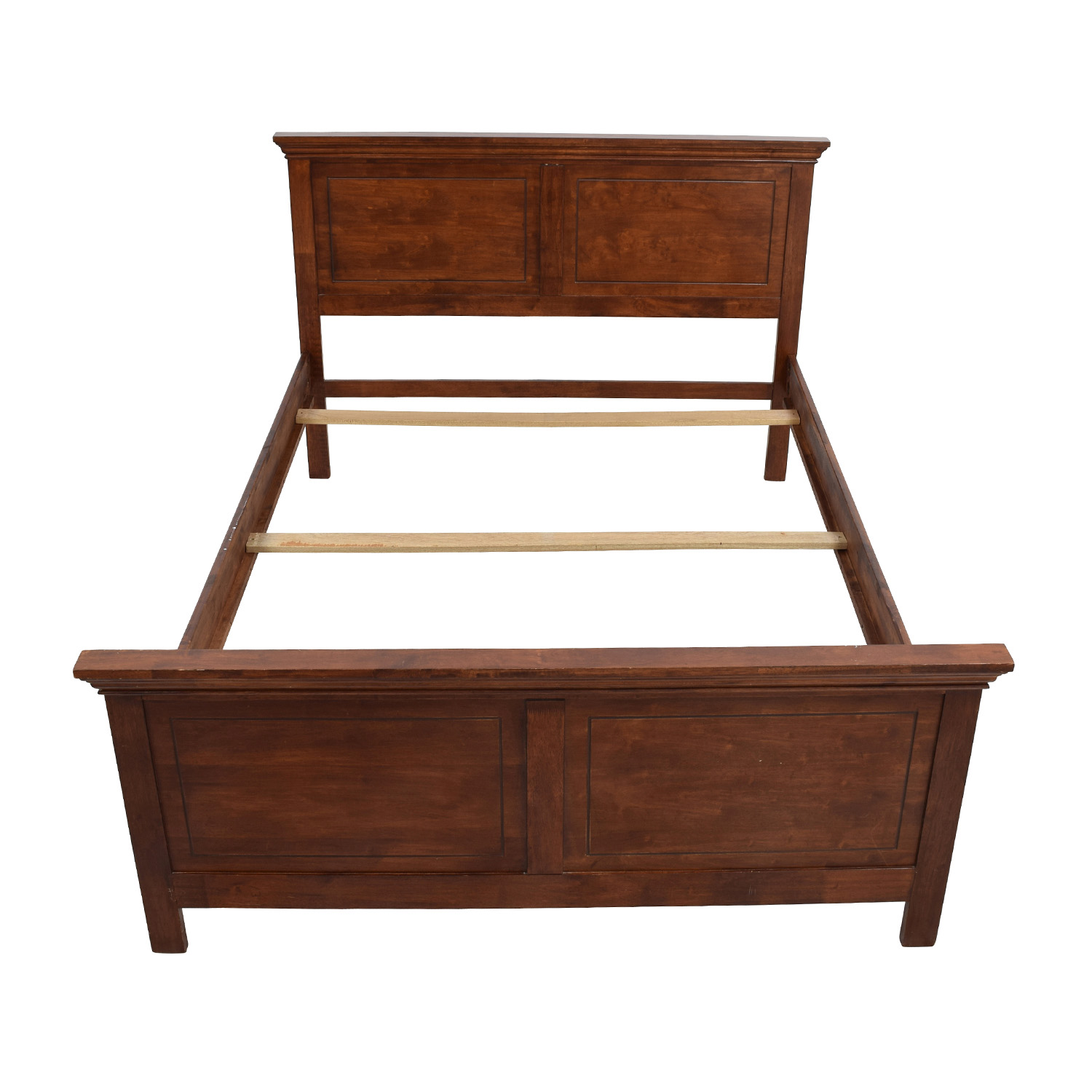 queen wooden bed frame second hand - Wood Bed Frames Queen