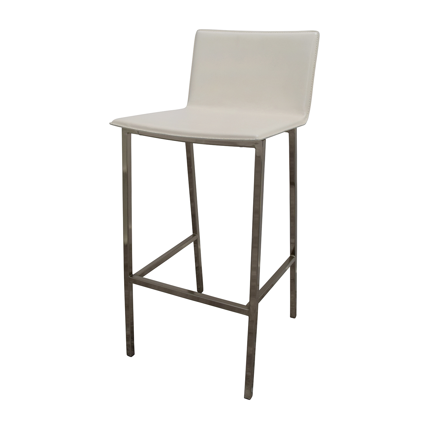 OFF CB2 CB2 Public White High Dining Table with