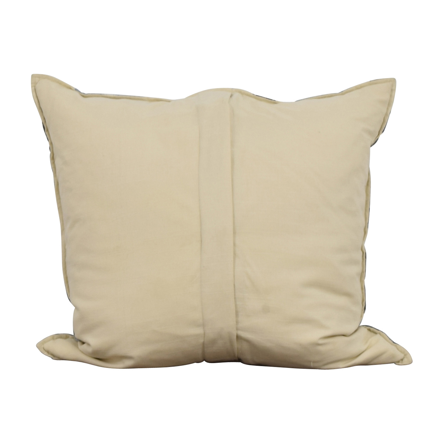 Light Blue and Navy Decorative Pillow for sale