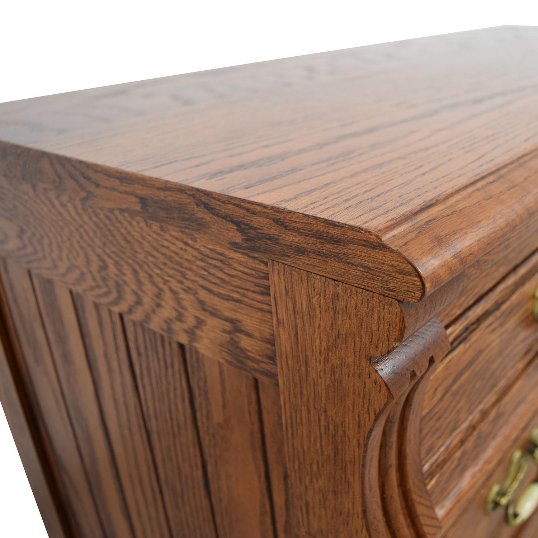 Lexington Recollections Oak Desk sale