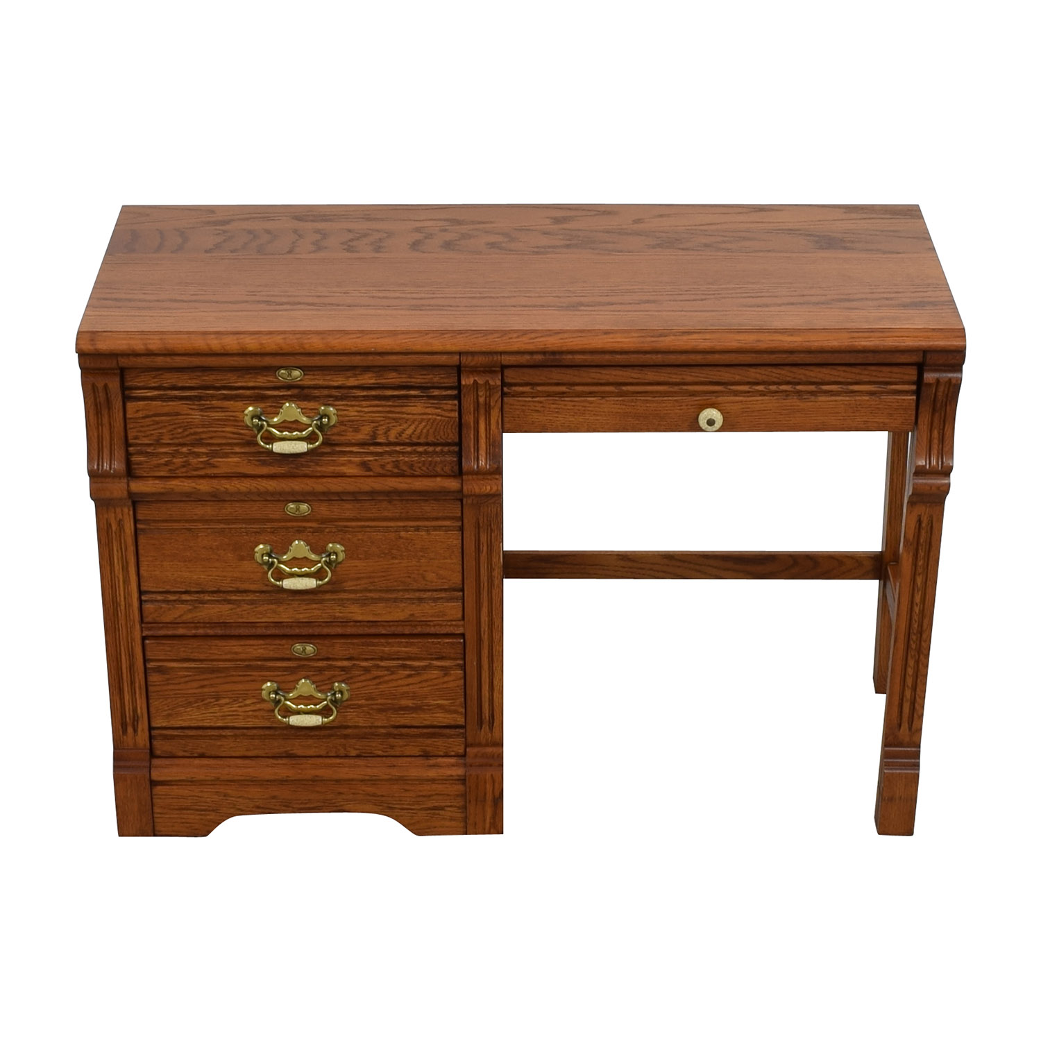 Lexington Recollections Lexington Recollections Oak Desk dimensions