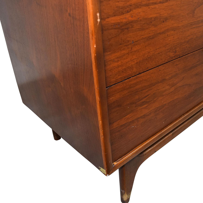 Vintage Mid-Century Modern Five-Drawer Dresser used