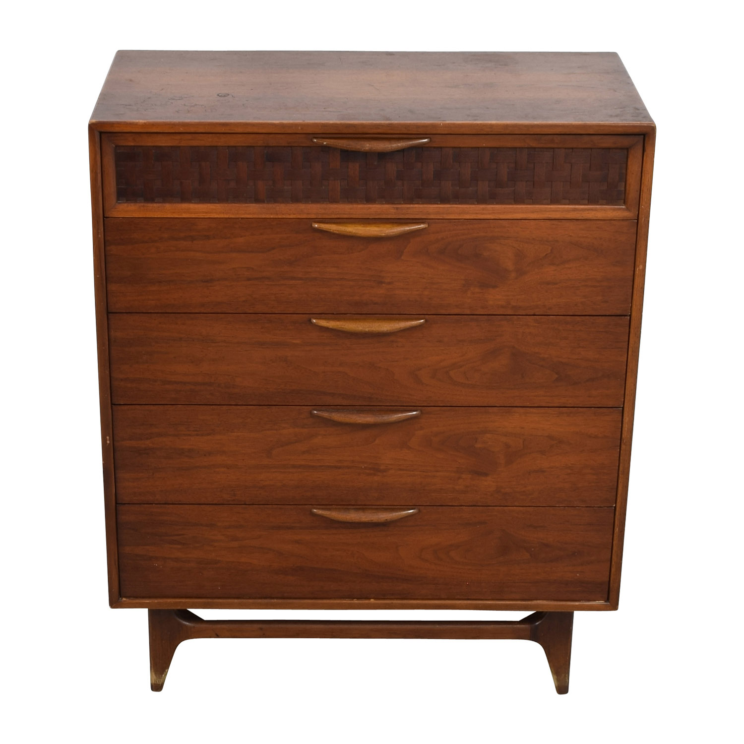 buy Vintage Mid-Century Modern Five-Drawer Dresser Dressers