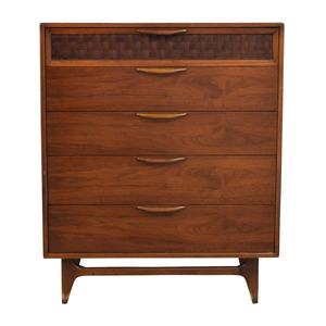 Vintage Mid-Century Modern Five-Drawer Dresser second hand