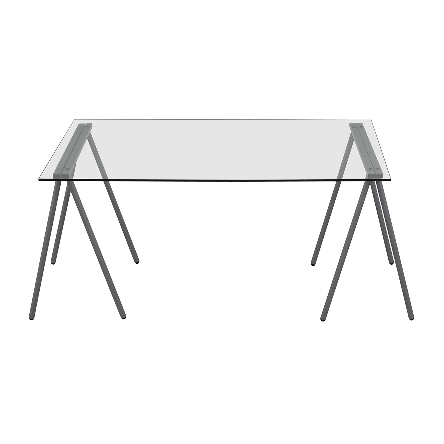 buy Flash Furniture Glass and Chrome Writing Desk Flash Furniture Tables