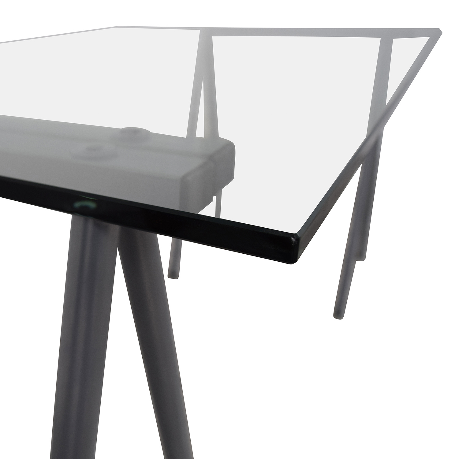 Flash Furniture Flash Furniture Glass and Chrome Writing Desk on sale