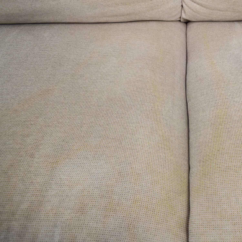 Italsofa Italsofa Beige Tweed Three Cushion Fabric Sofa price