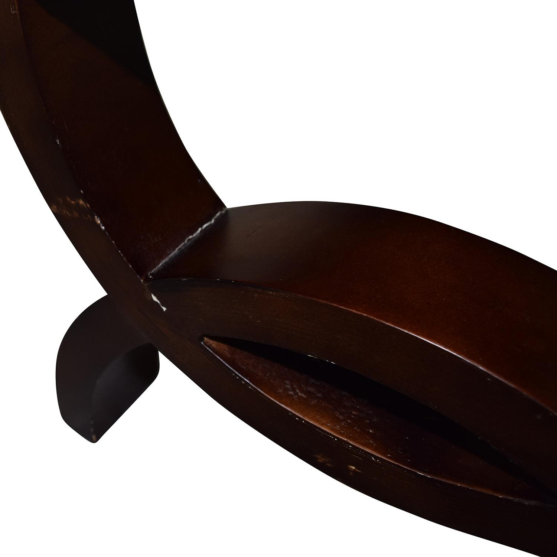 Zebra Print Decorative Bench Chairs
