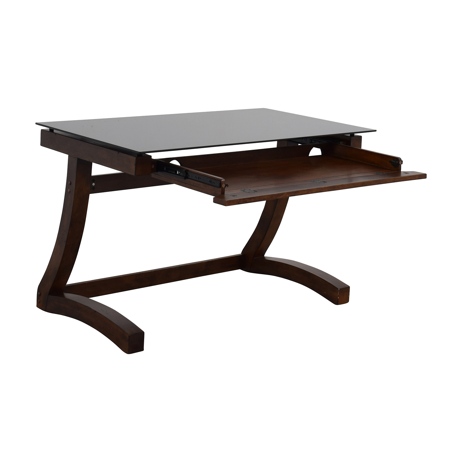 buy Raymour & Flanigan Computer Table and Chair Raymour & Flanigan Home Office Desks