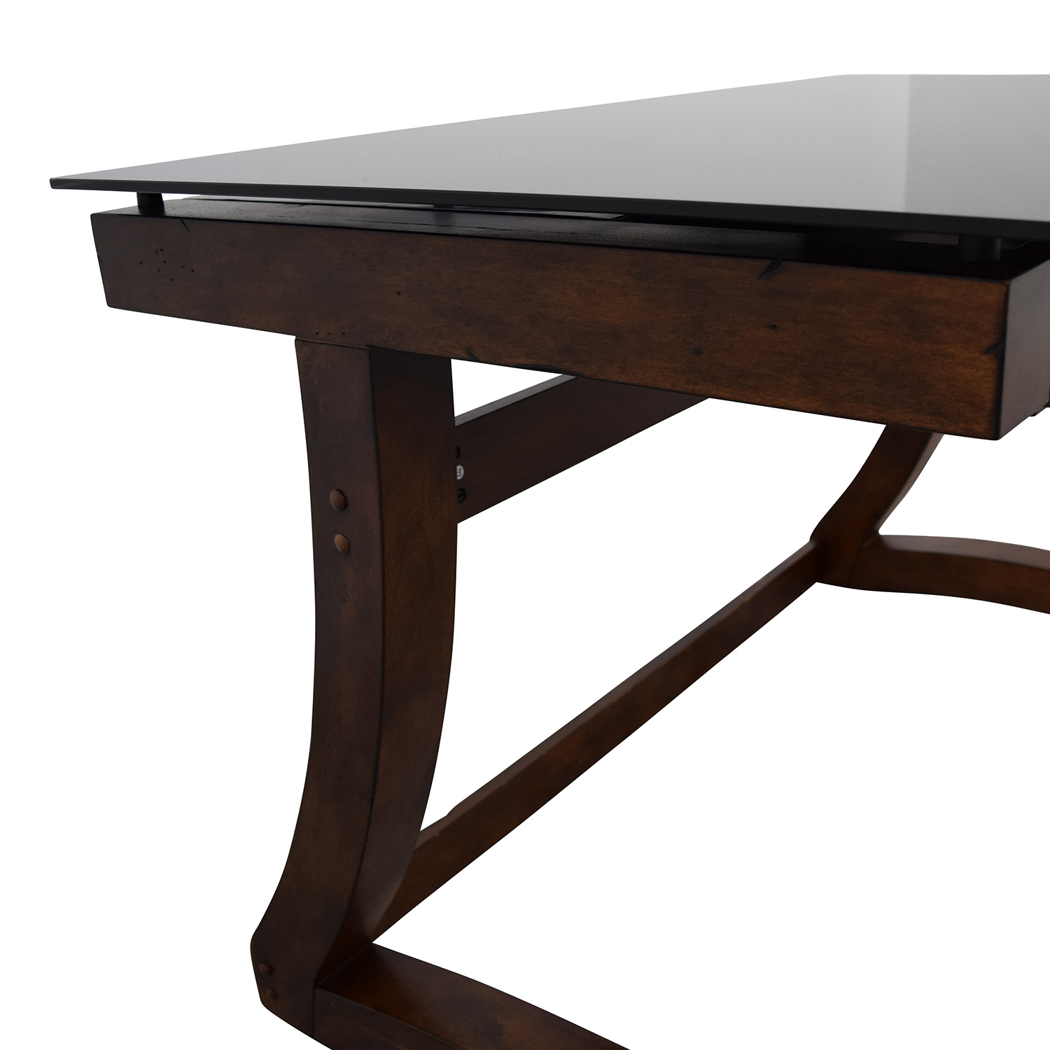 Raymour & Flanigan Raymour & Flanigan Computer Table and Chair used